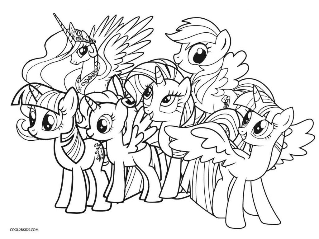 Coloring Ideas : My Little Ponyoloring Game Pages For Kids Free - Free Printable My Little Pony Coloring Pages