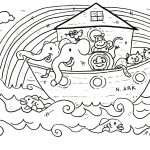 Coloring Pages Bible Stories Preschoolers | Freshcols   Free Printable Bible Story Coloring Pages