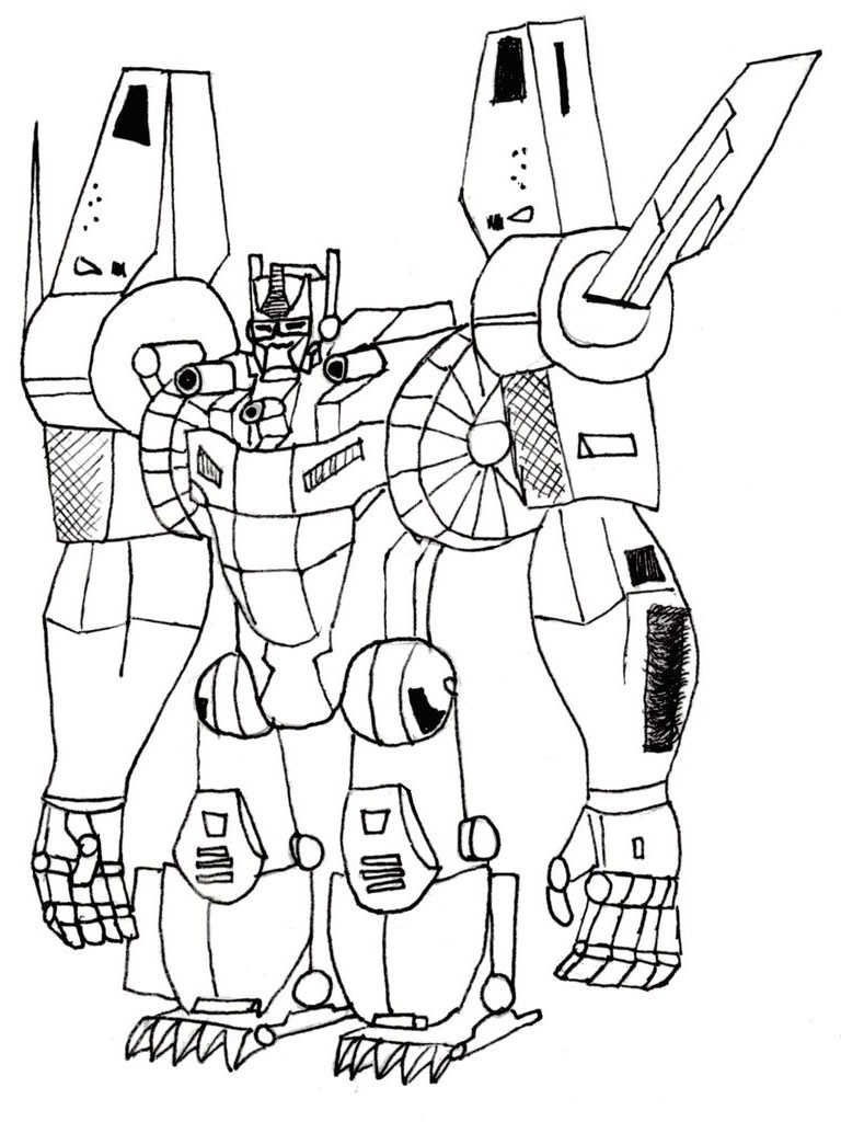 Coloring Pages Ideas: Astonishing Transformer Coloring Pages Optimus - Transformers 4 Coloring Pages Free Printable