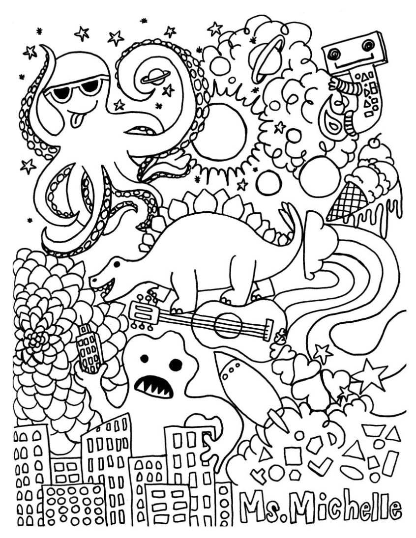 Coloring Pages Ideas: Childrens Coloring Books Pages Ideas Free - Free Printable Books For 5Th Graders
