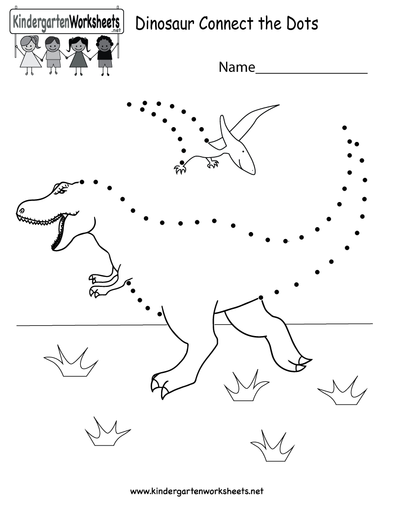 Coloring Pages Ideas: Connect The Dots Coloring Pages Dinosaur - Free Printable Dot To Dot Easy