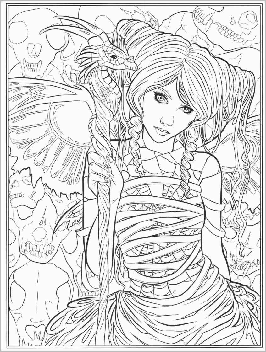 Coloring Pages Ideas: Fantasy Coloring Pages Lezincnyc Com For - Free Printable Coloring Pages For Adults Dark Fairies