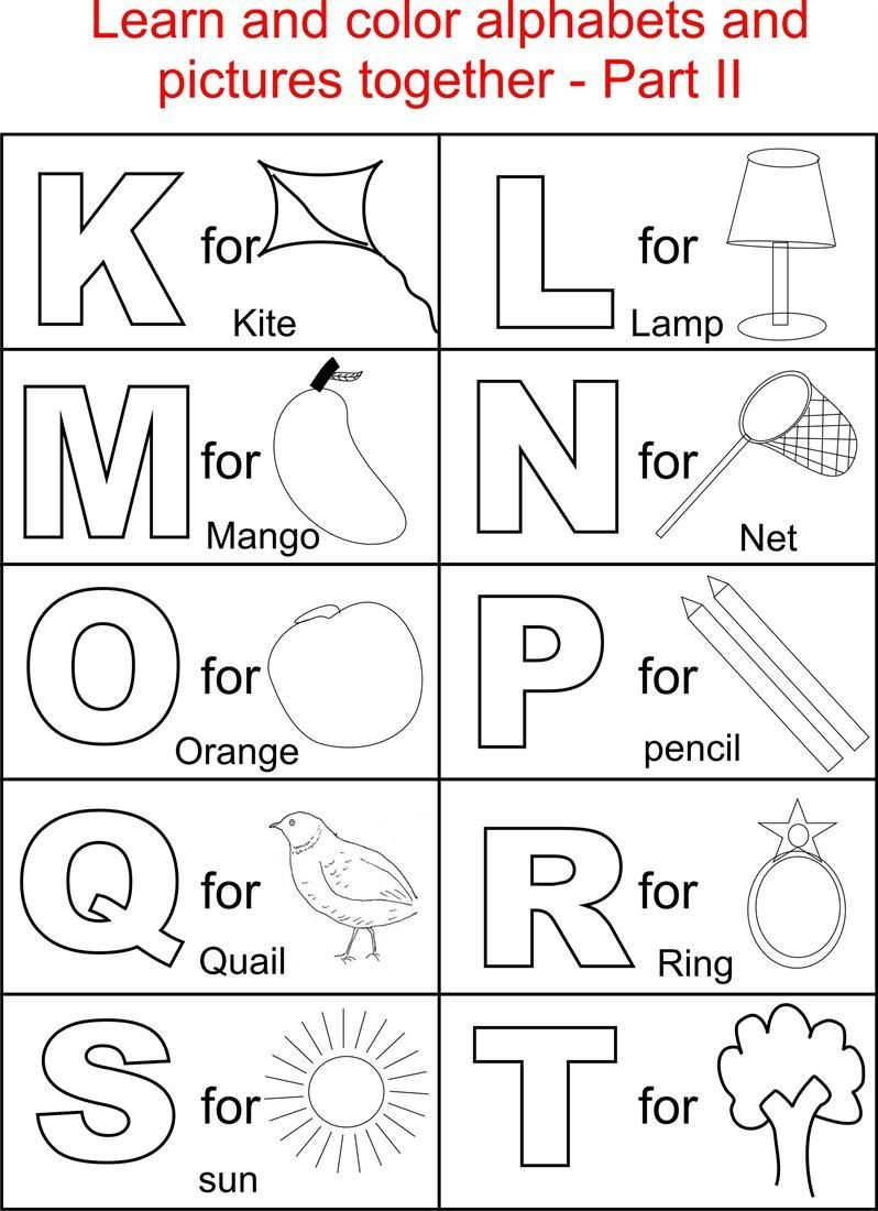 Coloring Pages Ideas: Free Number Coloring Sheets Printable Alphabet - Free Printable Preschool Alphabet Coloring Pages