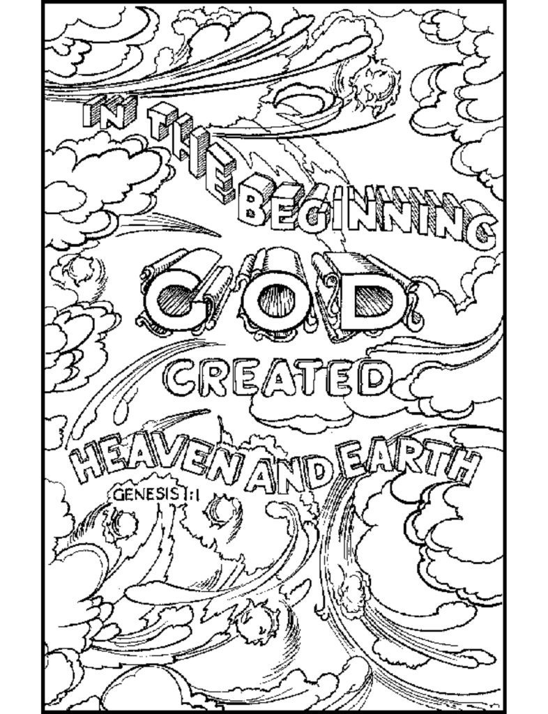 Coloring Pages Ideas: Free Scripture Coloring Pages For Adults At - Free Printable Bible Coloring Pages With Scriptures