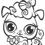 Coloring Pages Ideas: Littlest Pet Shop Dog Coloring Pages Printable   Littlest Pet Shop Free Printable Coloring Pages