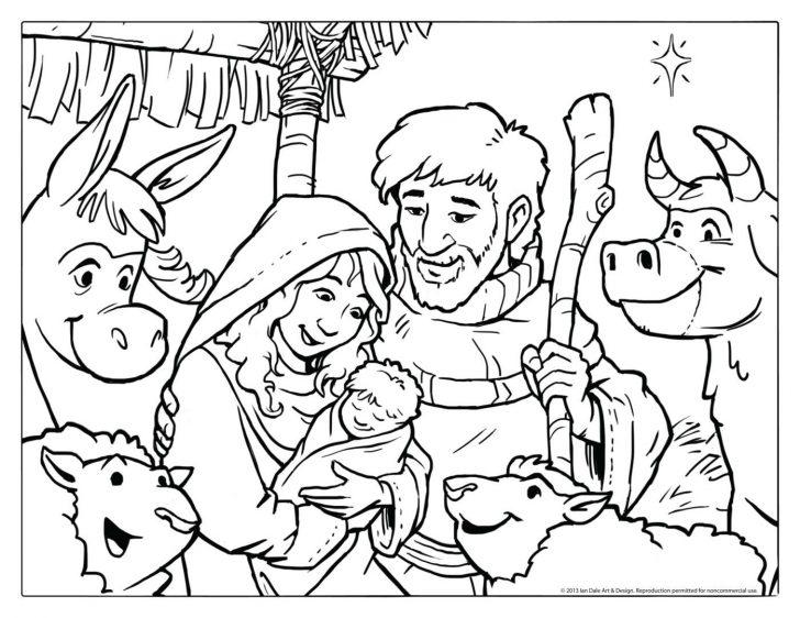 Free Printable Nativity Scene Pictures