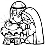 Coloring Pages Ideas: Precious Momentsativity Coloring Page For Kids   Free Printable Christmas Baby Jesus Coloring Pages