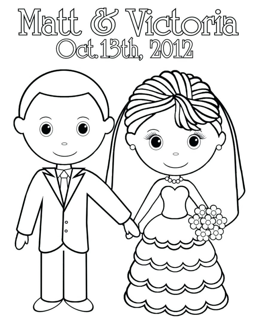 Coloring Pages Ideas: Printable Wedding Coloring Pages Fabulous Book - Wedding Coloring Book Free Printable
