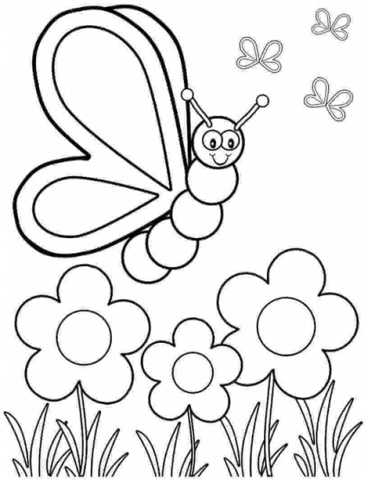 Free Printable Spring Pictures To Color