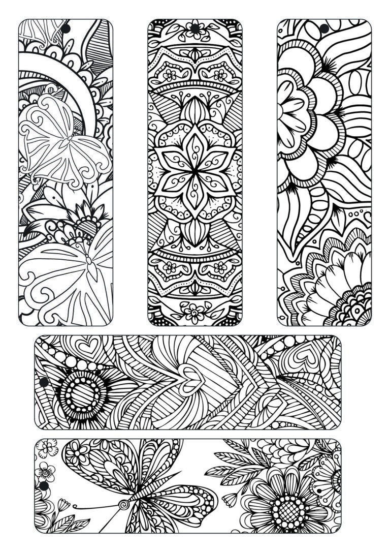 Colorista Sampler 03 | I Wanna Color. | Free Adult Coloring Pages - Free Printable Bookmarks To Color