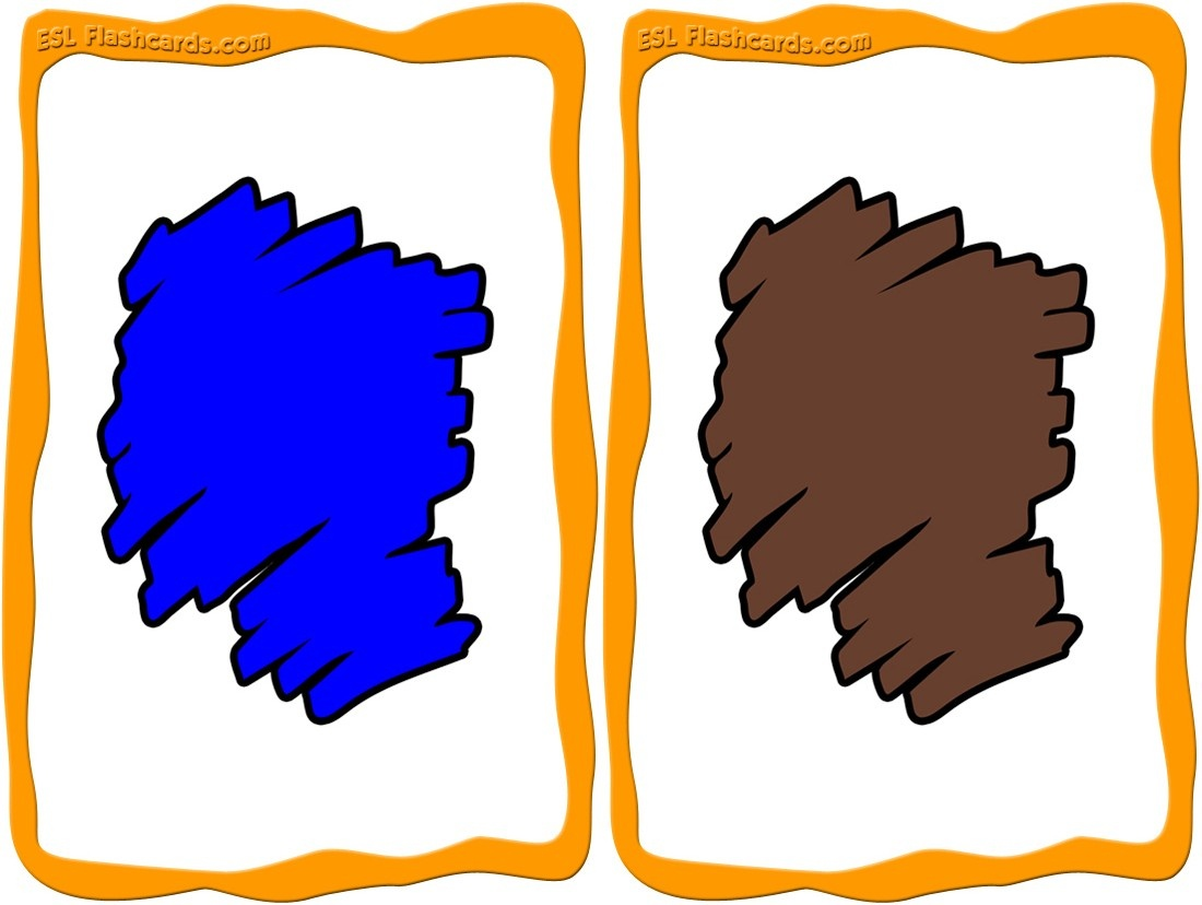 Colors Flashcards - 12 Free Printable Flashcards - Free Printable Colour Flashcards