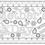 Colouring Mothers Day Card Free Printable Template   Free Printable Mothers Day Cards From The Dog