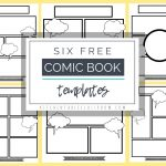 Comic Book Templates   Free Printable Pages   The Kitchen Table   Free Printable Books