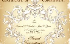 Commitment Ceremony Certificate Design Choices-That Wedding Lady – Commitment Certificate Free Printable