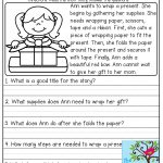 Comprehension Checks And Tons Of Other Great Printables! | Learn It   Free Printable Short Stories With Comprehension Questions