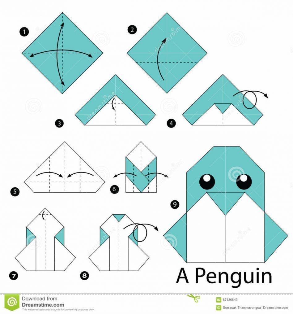 Cool Origami Instructions For Beginners : Origami Easy Origami - Printable Origami Instructions Free