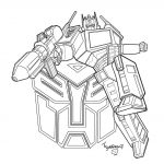 Cool Transformers Coloring Pages For Kids Printable | Coloring Pages   Transformers 4 Coloring Pages Free Printable