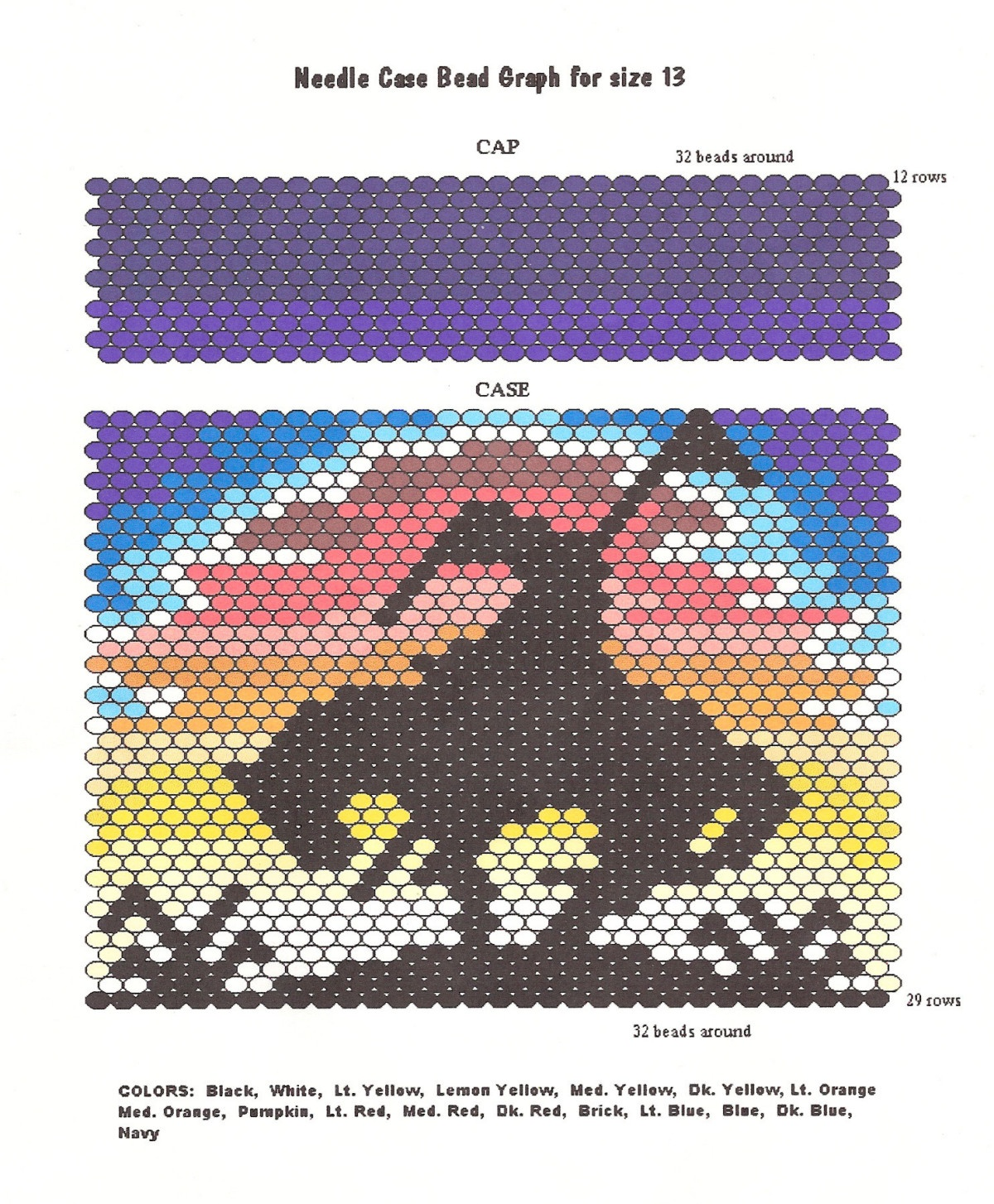 Craft Supplies, Free Beading Patterns. Earth Mother Crafts - Free Printable Native American Beading Patterns
