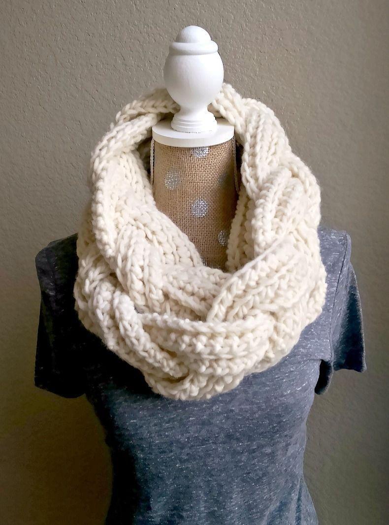 Crochet Braided Scarf Free Patterns | Make Grandma Proud | Crochet - Free Printable Crochet Scarf Patterns