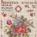 Cross Stitch Patterns Free Printable | Sentimental Baby: Free   Free Printable Cross Stitch Patterns Flowers