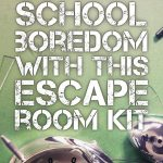 Crush Classroom Boredom With This Hack.   Middle School Language   Free Printable Escape Room Game