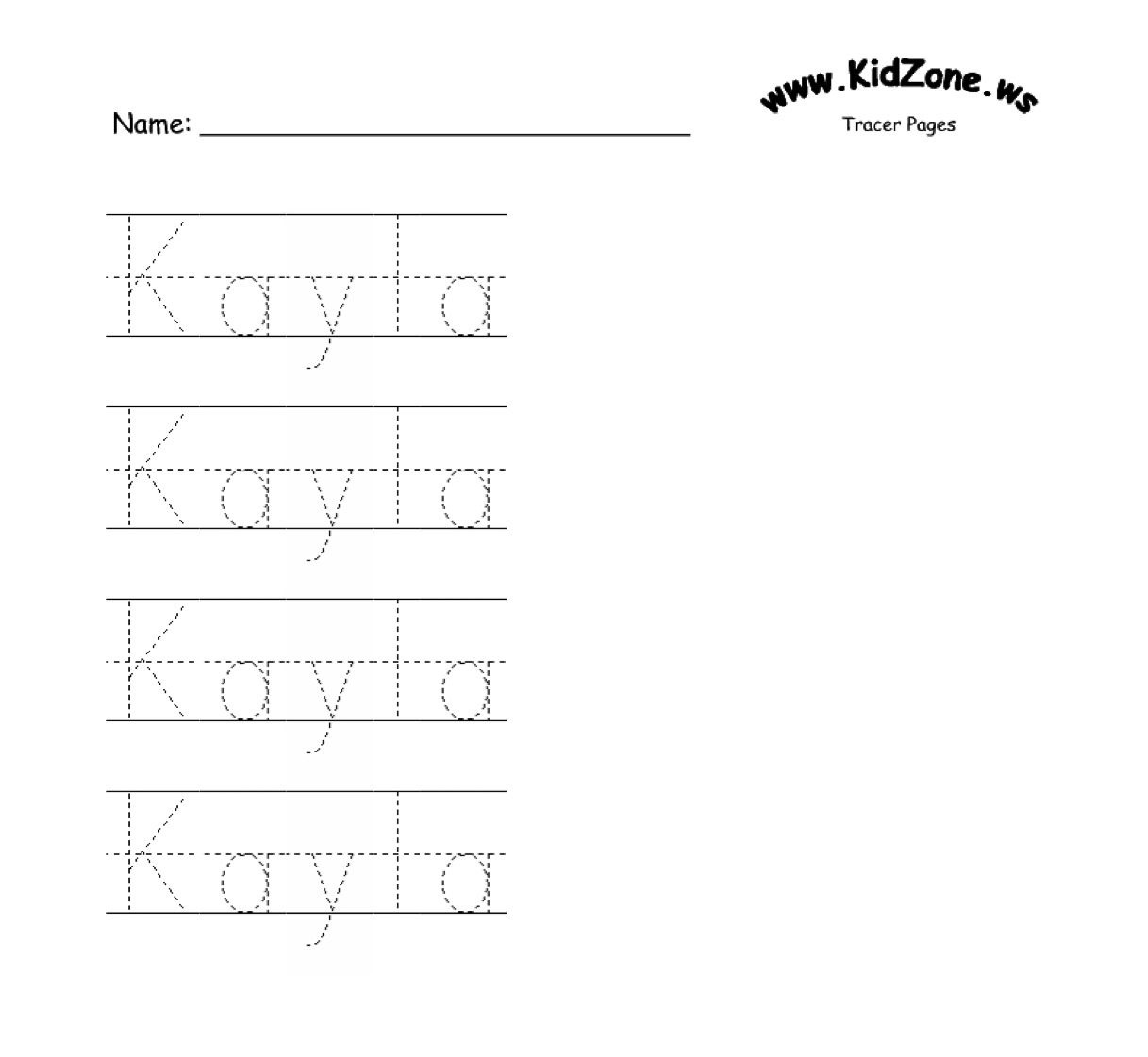 Custom Name Tracer Pages | Name Recog | Preschool Names, Preschool - Free Printable Preschool Name Tracer Pages