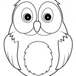 Cute Owl Coloring Page | Free Printable Coloring Pages   Free Printable Owl Coloring Sheets