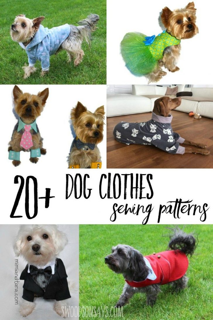 Free Printable Dog Pajama Pattern