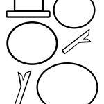 Cutting Templates | Templates | Snowman, Snowman Hat, Snowman Crafts   Free Printable Snowman Hat Templates