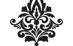 Damask Wall Stickers | Stencils | Printable Stencil Patterns, Shabby – Damask Stencil Printable Free
