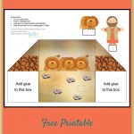 Daniel And The Lions' Den Free Printable Diorama Use For Young   Free Printable Bible Crafts For Preschoolers