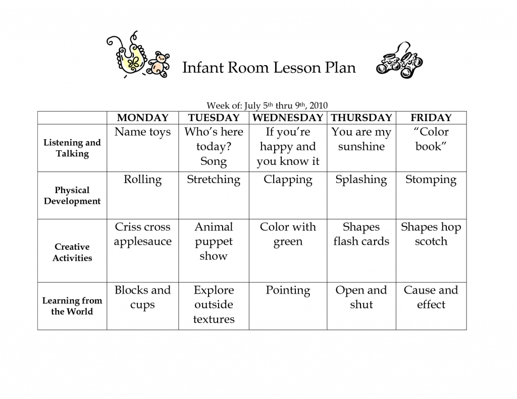 Daycare Lesson Plans For Toddlers Free Curriculum Two Year Olds Home - Free Printable Lesson Plans For Toddlers