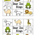 Dear Zoo Animal Bingo Worksheet   Free Esl Printable Worksheets Made   Free Printable Zoo Worksheets