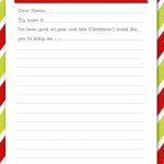 Delightful Order: Christmas Wish List   Free Printable   Free Printable Christmas List