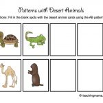 Desert Animal Printables   Teaching Mama   Free Printable Desert Animals