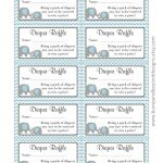 Diaper Raffle Tickets Free Printable   Yahoo Image Search Results   Free Printable Diaper Raffle Ticket Template