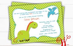 Dinosaur Baby Shower Invitation Dino Baby Shower Theme | Etsy – Free Printable Dinosaur Baby Shower Invitations