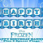 Disney Frozen Happy Birthday Banner | Birthday In 2019 | Frozen   Frozen Happy Birthday Banner Free Printable