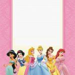 Disney Princess Party: Free Printable Mini Kit. | Free Printables   Disney Princess Birthday Invitations Free Printable