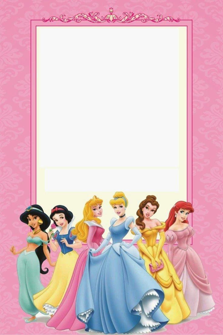 Disney Princess Party: Free Printable Mini Kit. | Free Printables - Free Printable Disney Invitations