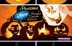 Disney Pumpkin Carving Patterns Free Printable (81+ Images In – Free Pumpkin Carving Patterns Disney Printable