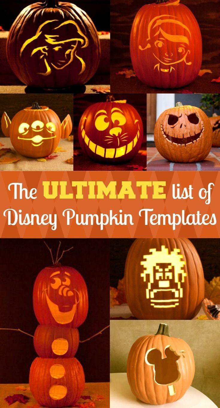 Disney Pumpkin Stencils | Halloween Ideas | Pumpkin Carving Disney - Free Printable Lightning Mcqueen Pumpkin Stencil