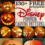 Disney Pumpkin Stencils: Over 130 Printable Pumpkin Patterns – Free Printable Toy Story Pumpkin Carving Patterns