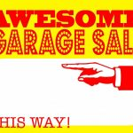 Diy Printable Awesome Garage Sale Signs For Our Upcoming Community   Free Printable Yard Sale Signs