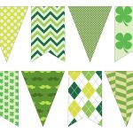 Diy St. Patrick's Day Decorations Printable Banner   Paper Trail Design   Free Printable St Patrick's Day Banner