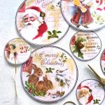 Diy Vintage Gold Christmas Gift Tags   Free Printable   Free Printable Vintage Christmas Tags For Gifts