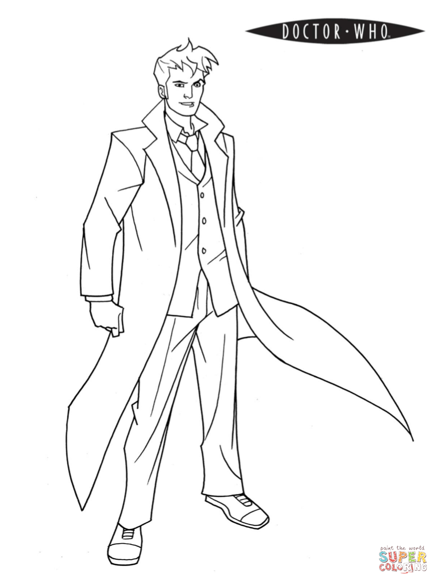 Doctor Who Coloring Page | Free Printable Coloring Pages - Doctor Coloring Pages Free Printable
