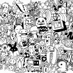 Doodle Art Coloring Pages | Free Coloring Pages | Doodled In 2019   Free Printable Doodle Art Coloring Pages