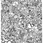 Doodle Art To Print For Free   Doodle Art Kids Coloring Pages   Free Printable Doodle Art Coloring Pages