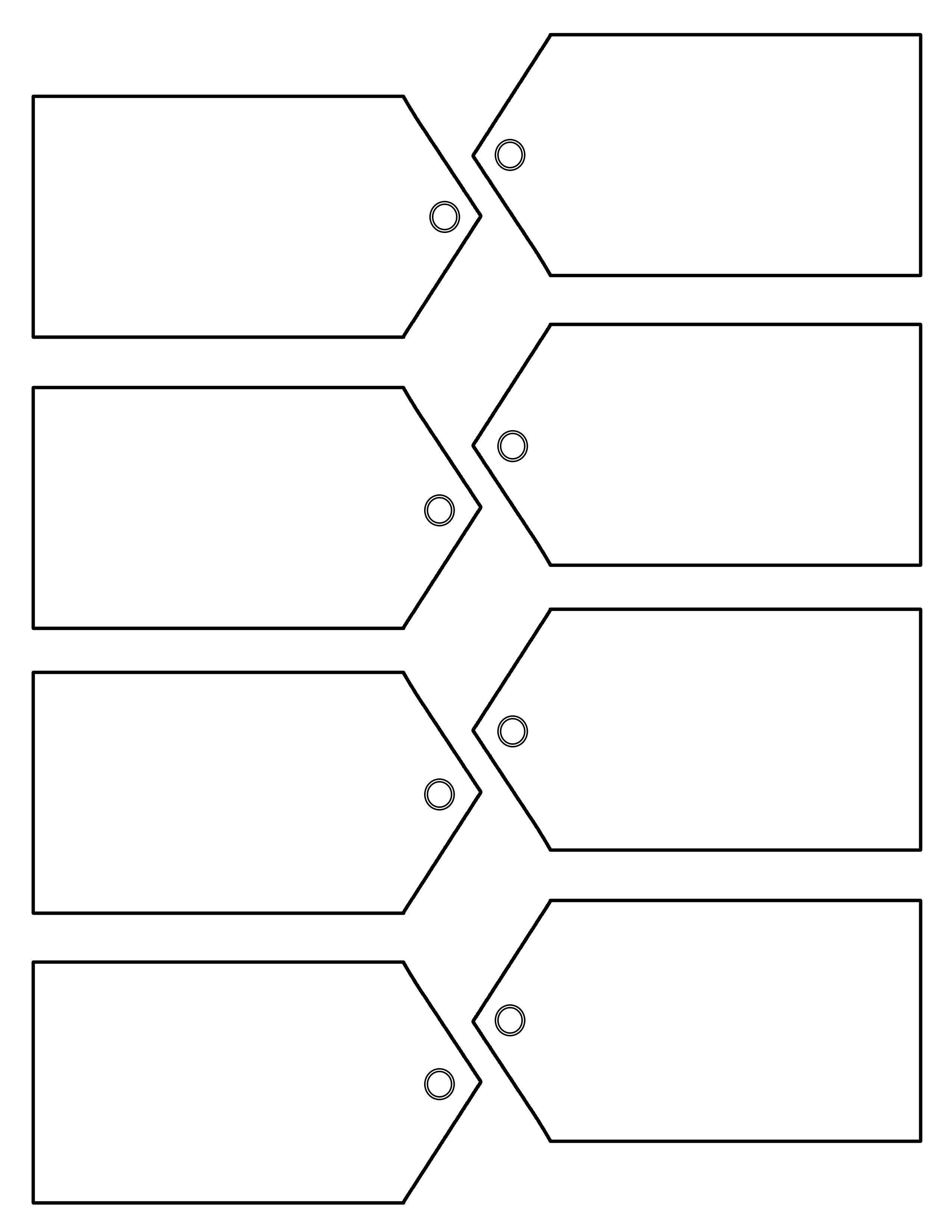 Download Christmas Traditional Tag Template On Right Here   Ho Ho - Free Printable Gift Tags Templates